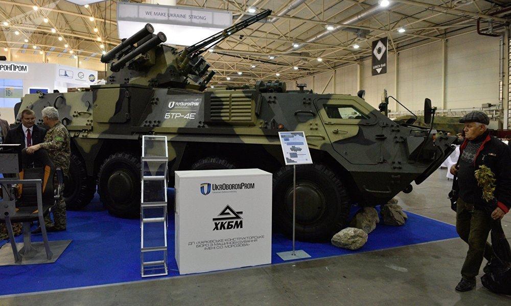 """乌克兰还在2011年就签署了向泰国提供49辆""""堡垒""""坦克的合同,但是直到现在泰国军方只获得25辆。"""