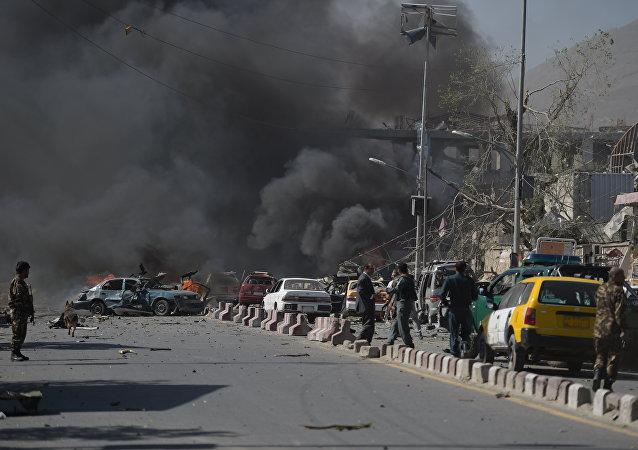 喀布尔恐袭