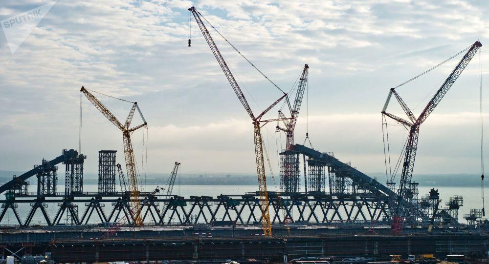 克里米亚正在进行建设的大桥可承受最强级别地震