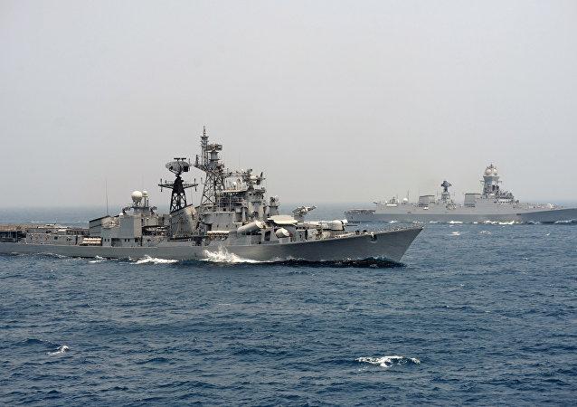 印度海军称有关其参加俄伊军演的消息不实