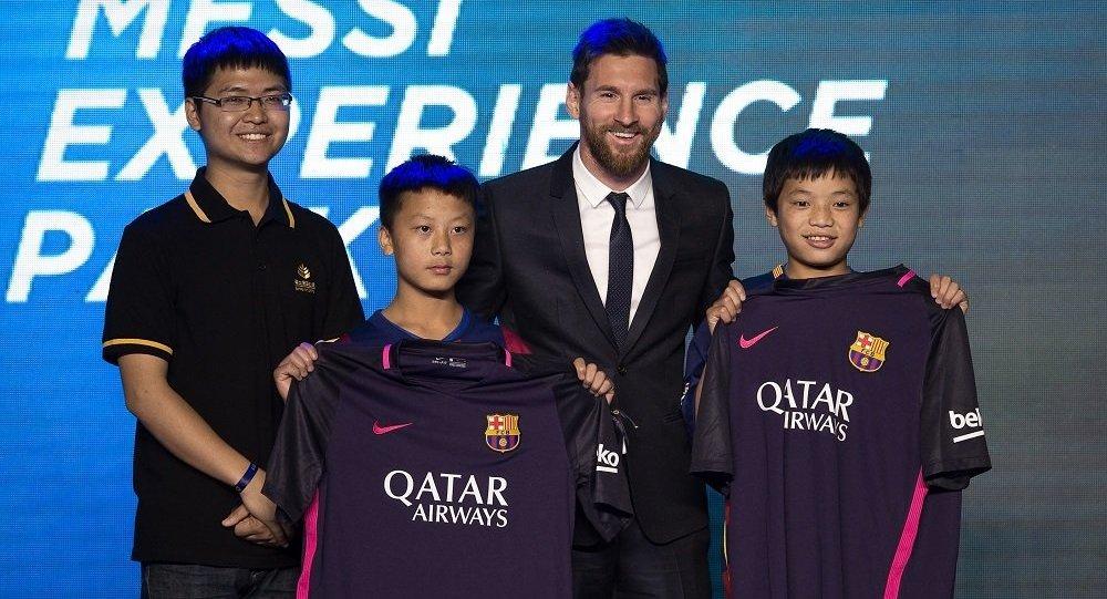 梅西将在南京建足球主题公园