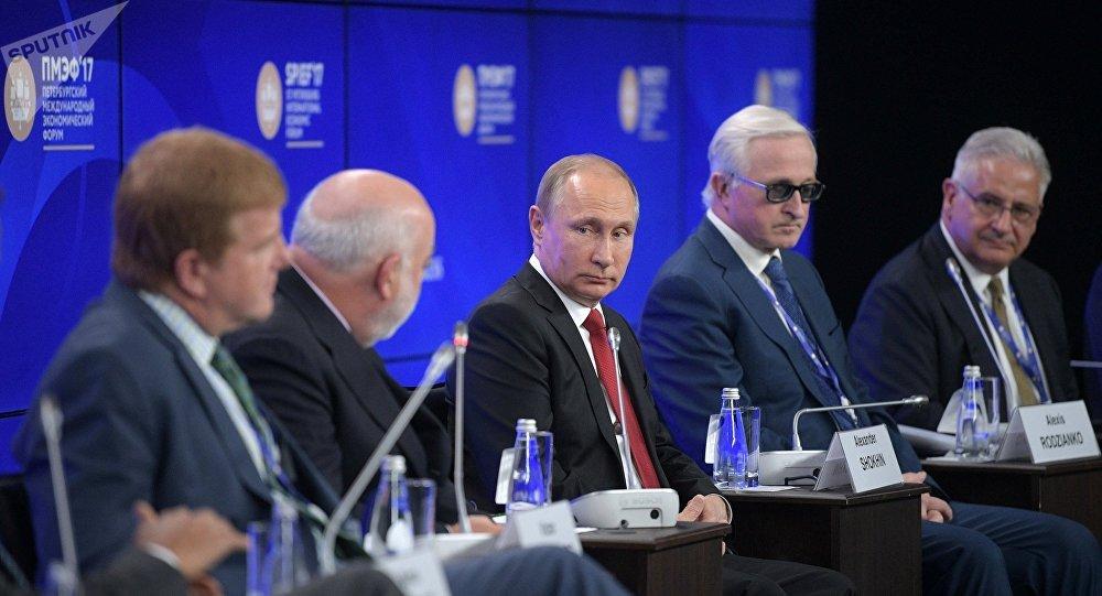 普京希望美国商界协助俄美对话