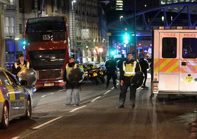 在伦敦发生的两起恐袭事件造成6人受伤