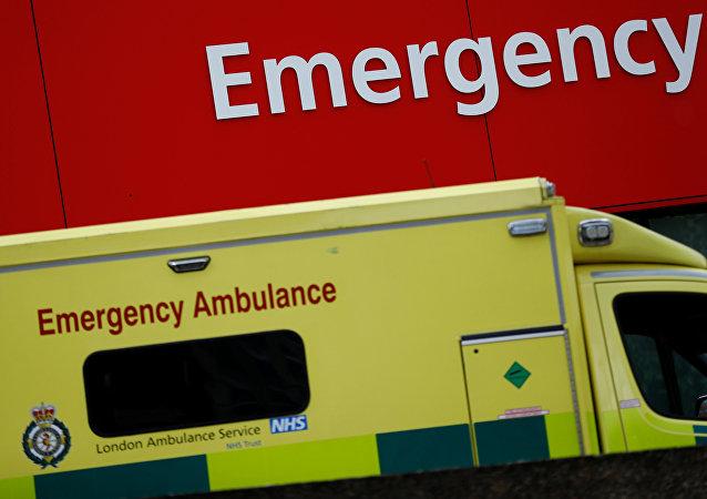 医务人员:伦敦恐袭造成约50人送往医院