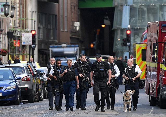 伦敦市中心发生2起恐怖袭击