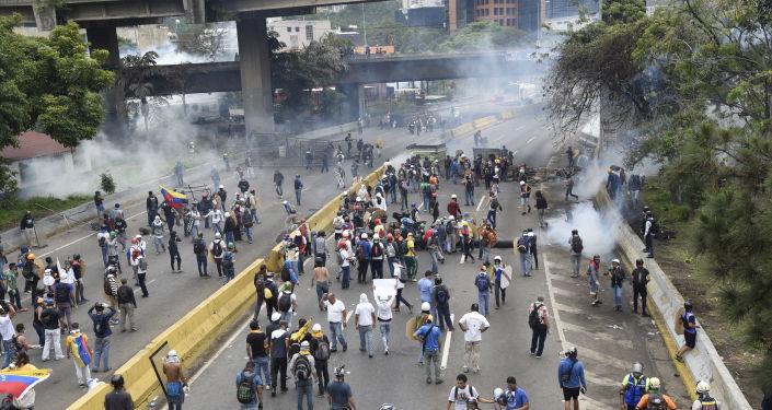 委內瑞拉反對派(資料圖片)