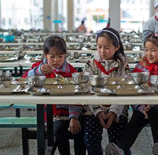 中国贫困地区中小学生的营养状况变得更好