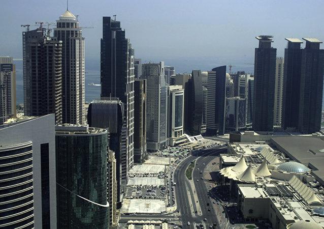 卡塔尔首都多哈