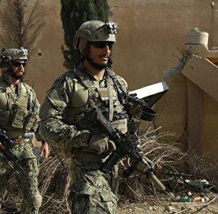 五角大楼:美国海军陆战队在直升机的支持下参与解放叙利亚拉卡的行动