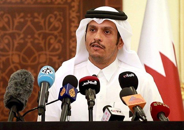 卡塔尔外长穆罕默德