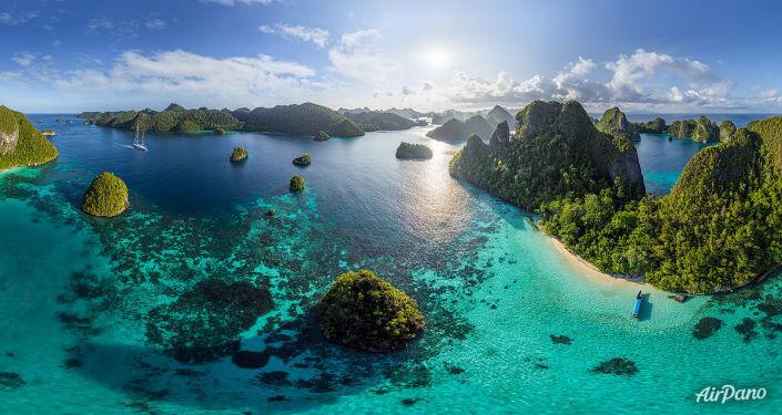 媒体:为保护领土及资源,印度尼西亚将重新清点其岛屿总数
