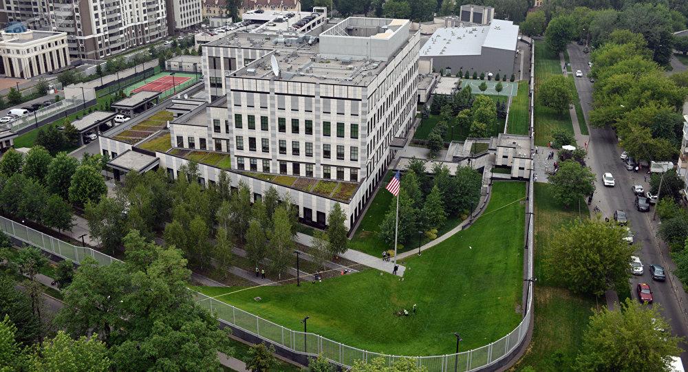 美国驻乌克兰使馆称未将夜间爆炸视为恐袭