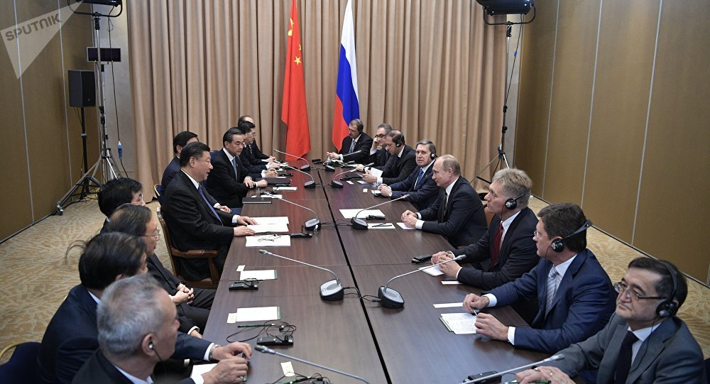 俄中领导人在阿斯塔纳讨论了即将到来的习近平访俄之行事宜