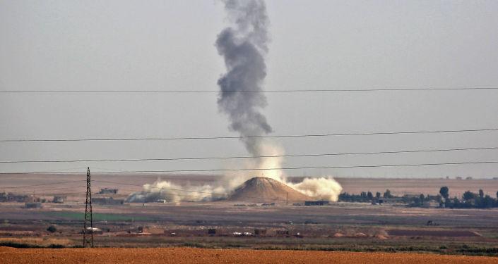 俄国家杜马副主席提议联合国调查美空军在叙行动