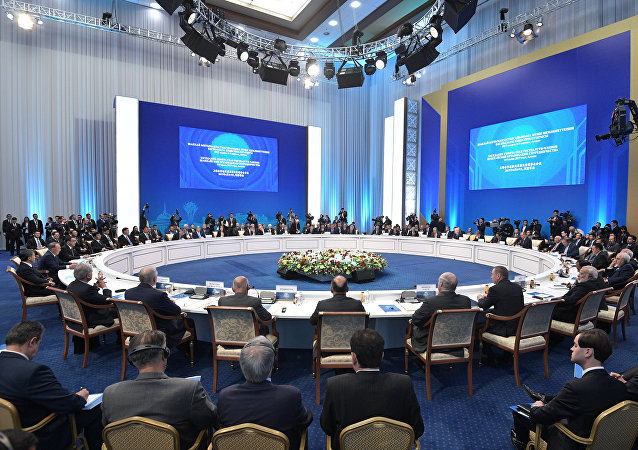 """上合组织成员国欢迎""""一带一路""""倡议的实施"""