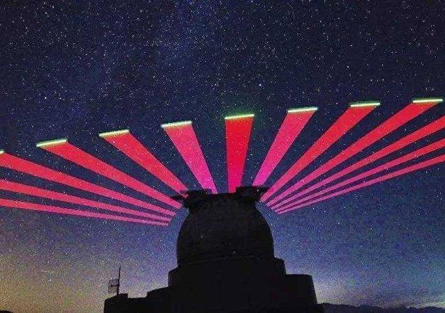 """中国科学家利用""""墨子号""""卫星首次实现量子安全时间传递"""