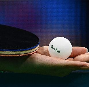 乌苏里斯克与绥芬河共同举办乒乓球友谊赛