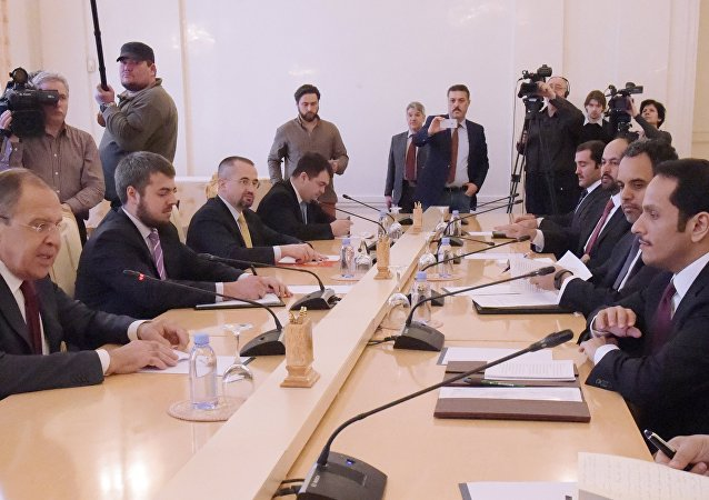 俄外长:俄罗斯不干涉他国事务 主张就卡塔尔问题进行对话