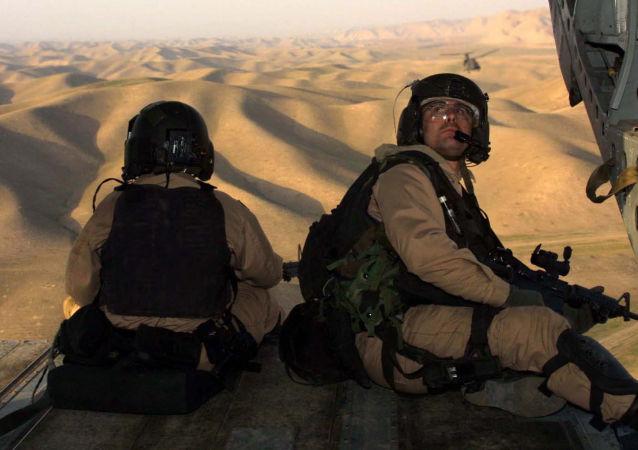 路透社:阿富汗警察在美国空袭中死亡
