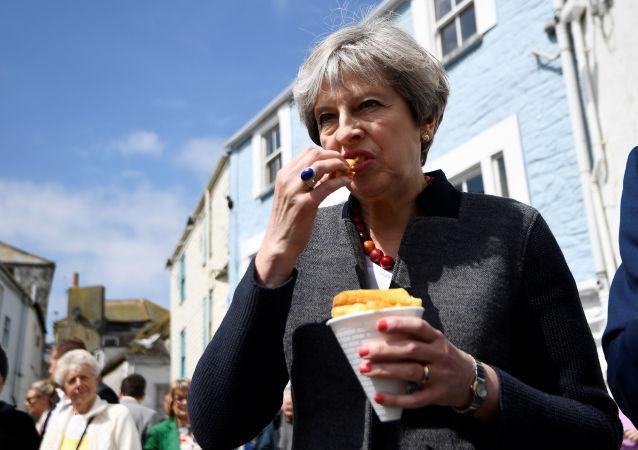 民调:多数英国保守派支持首相特雷莎·梅辞职