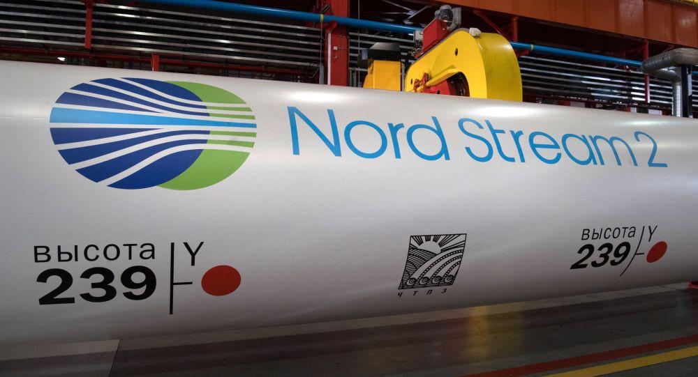 """俄总理: 美国企图埋葬""""北溪-2""""项目以便把俄从欧盟天然气市场中挤出去"""