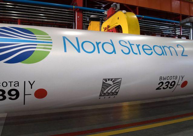 """""""北溪-2""""项目天然气管道"""