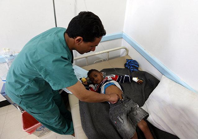 媒体:印度一家医院供氧设备中断导致30名儿童死亡