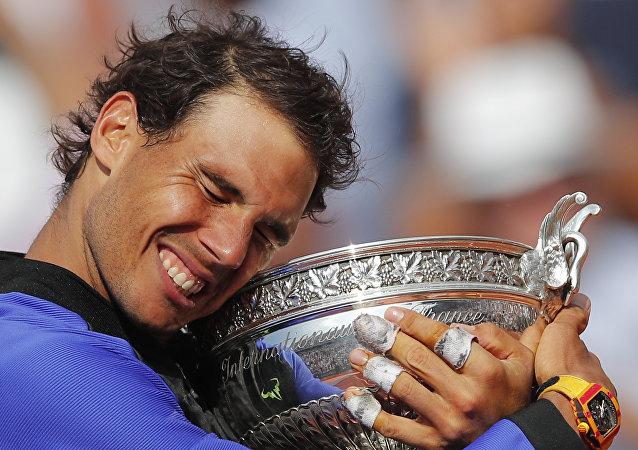 西班牙网球运动员拉斐尔·纳达尔