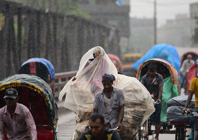 媒体:孟加拉国强暴雨致35人死亡