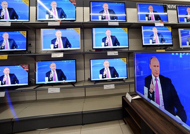 普京称想借助时间机器去看俄罗斯的历史进程