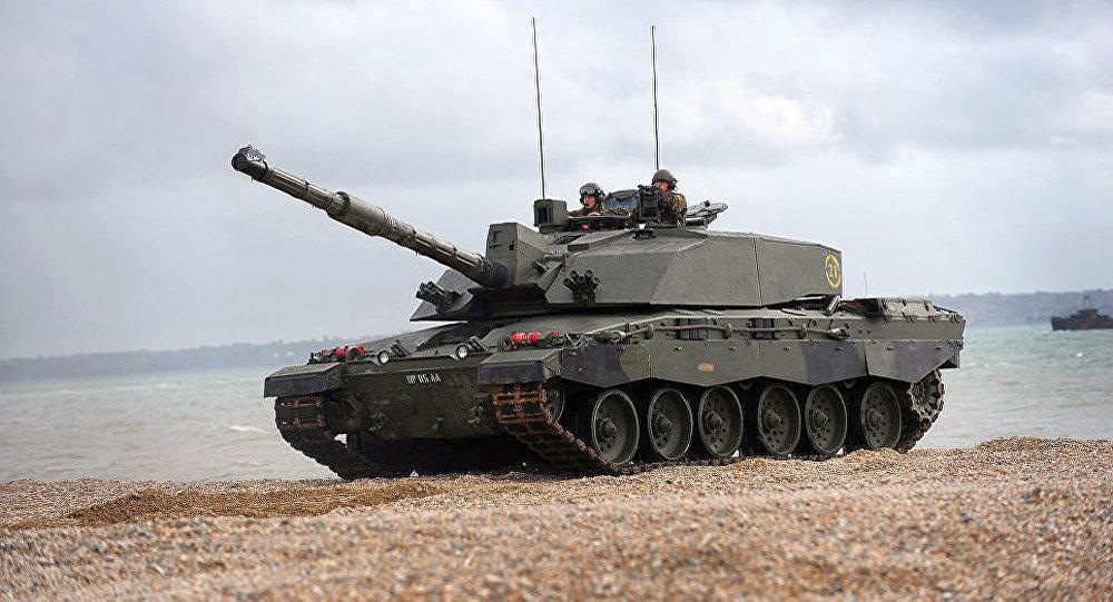 英国 Challenger 2 坦克