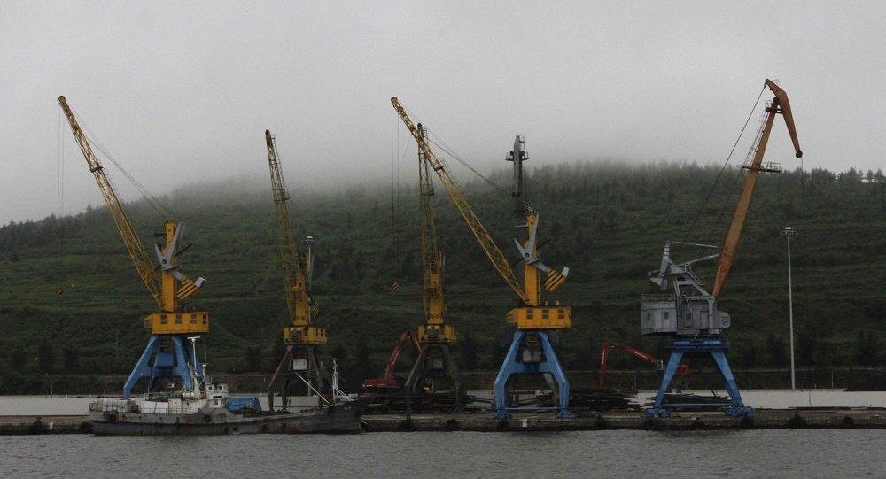朝鲜罗津港
