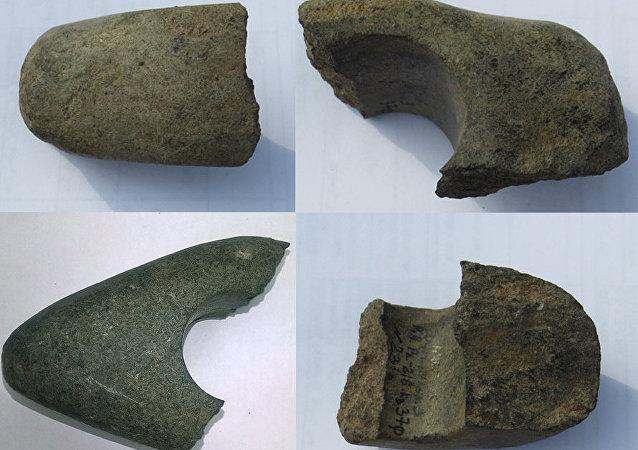 考古学家在莫斯科市中心发现中石器时代和新石器时代的手工制品