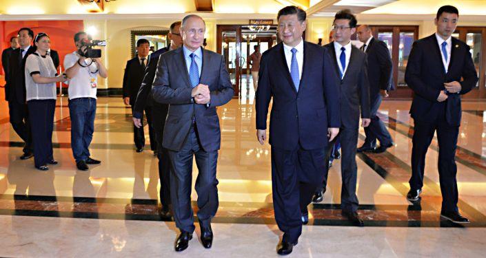 普京:西方制裁加速了俄中亲近进程