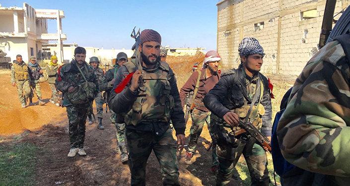 外媒:叙利亚军停止军事行动48小时
