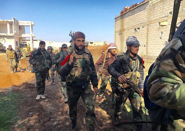 外交消息人士:俄驻叙和解中心军官没有确认叙军使用化武