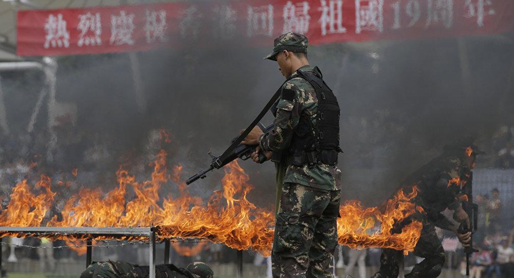 俄专家:美国想把反恐支出责任推给中国