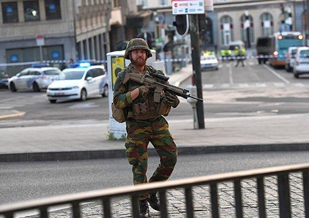 军方已制伏在布鲁塞尔火车站制造爆炸的人员