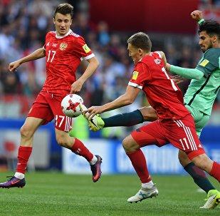 聯合會杯俄羅斯隊0-1不敵葡萄牙隊
