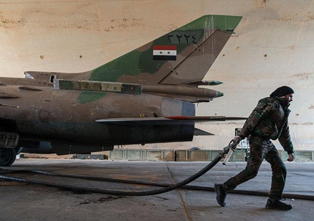 叙利亚的苏-22歼击机