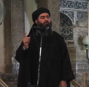 """美军指挥官:联军不能证实""""伊斯兰国""""头目已经死亡"""