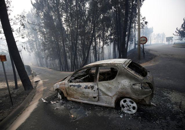 葡萄牙中部大火被撲滅