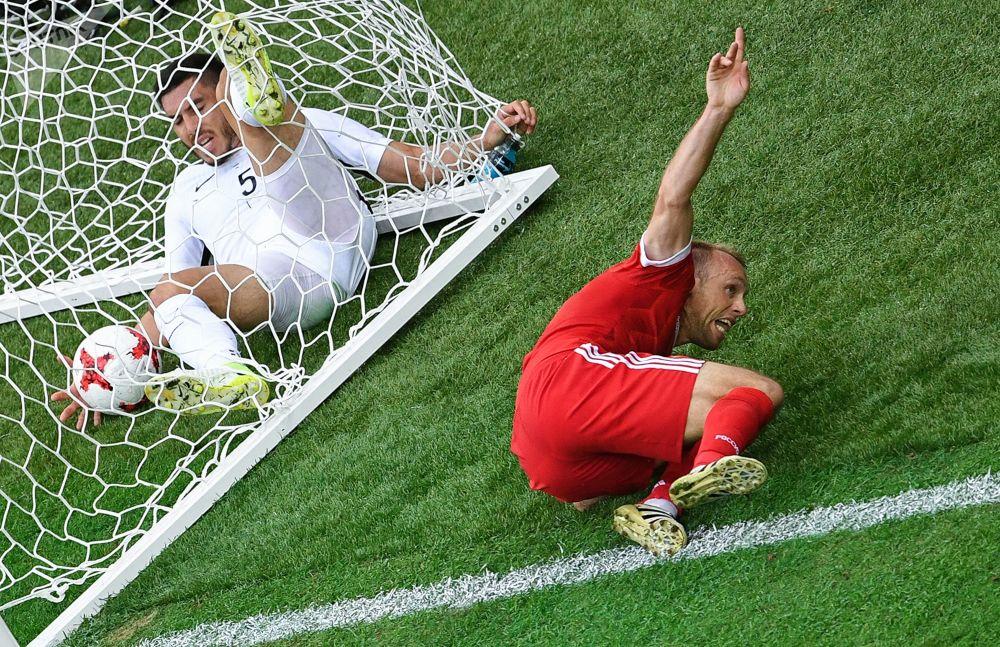 俄罗斯卫星通讯社请您欣赏联合会杯一周内的图片