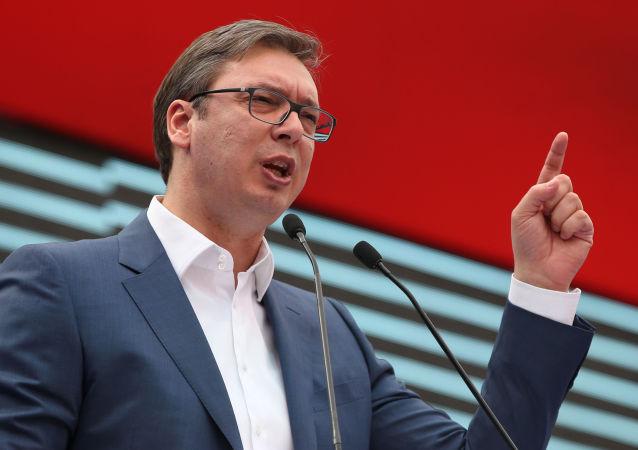 武契奇:塞爾維亞可以信賴普京