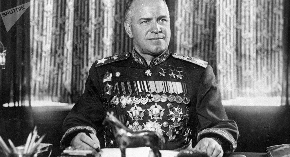 苏联元帅朱可夫