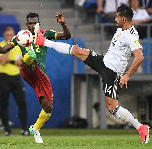 德国队3-1击败喀麦隆队