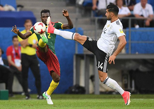 德國隊3-1擊敗喀麥隆隊