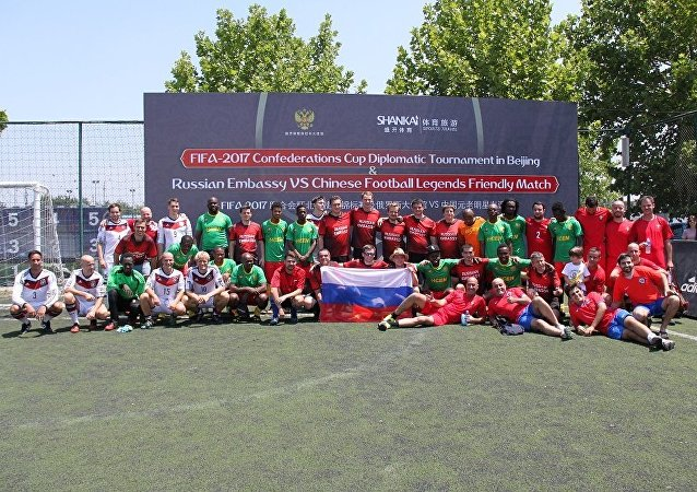 外交使团联合会杯