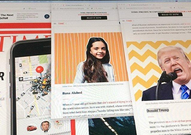 特朗普和一名叙女孩入选《时代》互联网中最有影响力人物