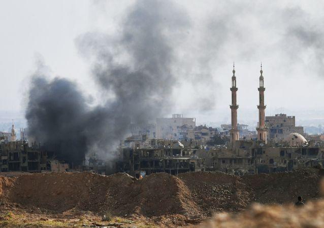 联军指挥部:叙利亚和伊拉克境内又有119名平民在联军轰炸中丧生 死亡人数上升至603人